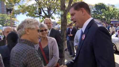 A Day On The Campaign Trail With Mayoral Candidate Marty Walsh