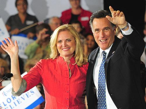 Ann Romney Among Those On Deck At GOP Convention