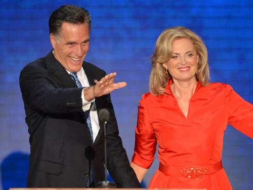 Ann Romney Says Her Husband Will Lift Up America