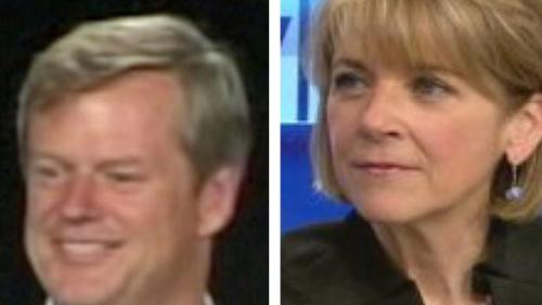 Baker, Coakley Make Early Campaign Stops