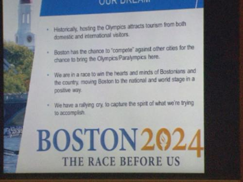 Behind The Mic With Joe Mathieu:  Boston Summer Olympics?