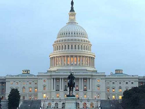 Behind The Mic With Joe Mathieu: Congress Working From Home?