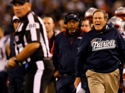 Bill Belichick's Ref Reaction Only Human And Other Leftover Patriots Thoughts