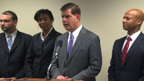 Boston Mayor-Elect: Federal Law Targets Too Many
