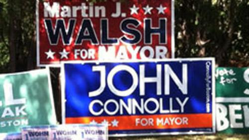 Boston Mayoral Candidates Turn Up Heat In Final Days Of Campaign