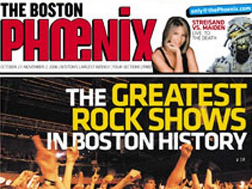 Boston Phoenix Will Morph Into Glossy Magazine