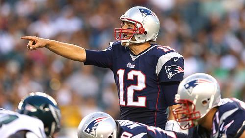 Brady Solid In Preseason Debut
