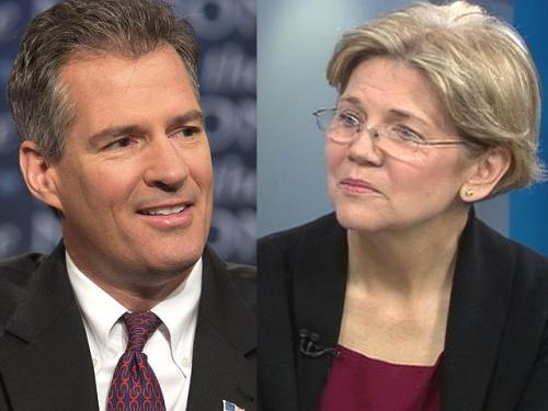 Brown vs. Warren – Their First TV Debate