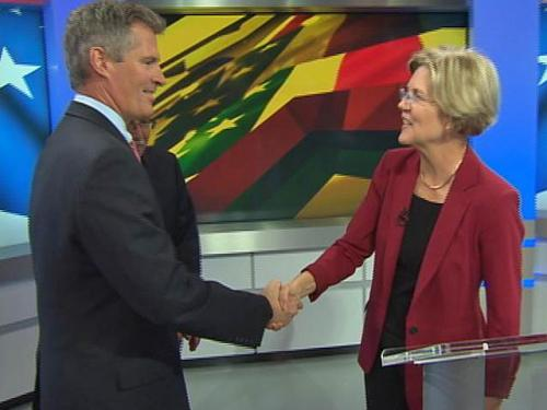 Brown, Warren Head To Springfield For Third Debate