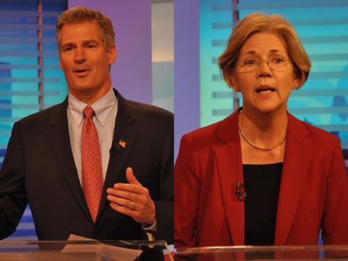 Brown, Warren Spar In 2nd Debate For US Sen. Seat