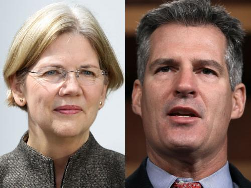 Brown, Warren Tied In New Senate Race Poll