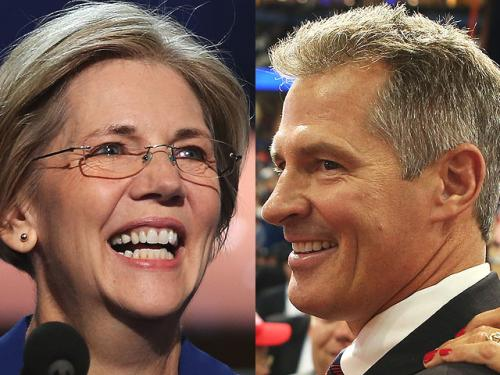 Brown, Warren Trade Accusations  In Federal Election Commission Complaints