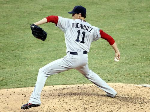 Buchholz On A Roll For Red Sox