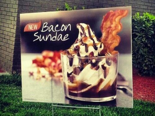Burger King Adds Bacon Sundae To Summer Menu