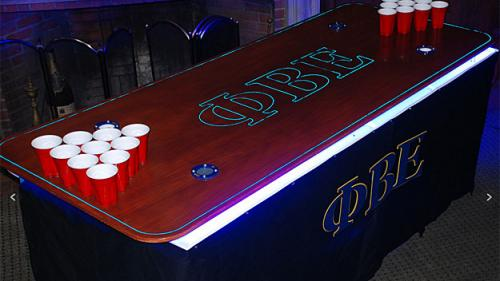 Cambridge Company Creates High Tech Beer Pong Table For MIT Frat