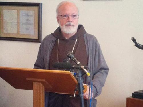 Cardinal O'Malley Makes Push For Immigration Reform