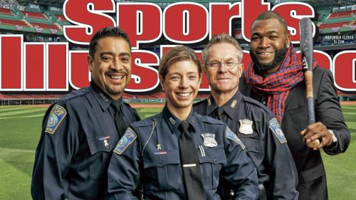 David Ortiz, Boston Police Featured On Sports Illustrated Cover