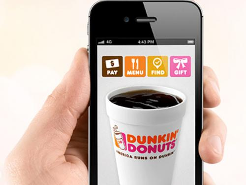 Dunkin' Donuts Unveils Mobile Pay App