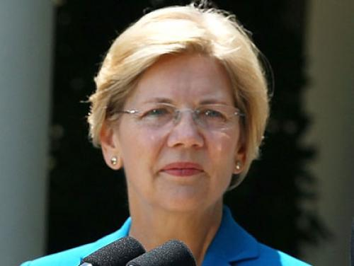 Elizabeth Warren Holds First Rally In Boston