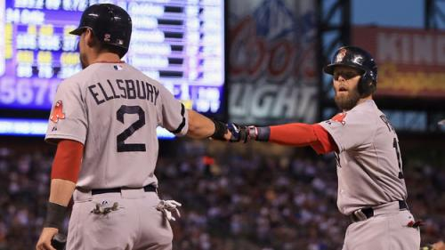 Ellsbury Scores Twice In Return To Red Sox Lineup