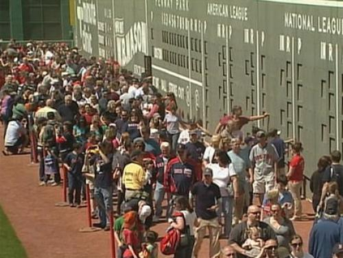 54,000 Fans Attend Free Open House At Fenway Park