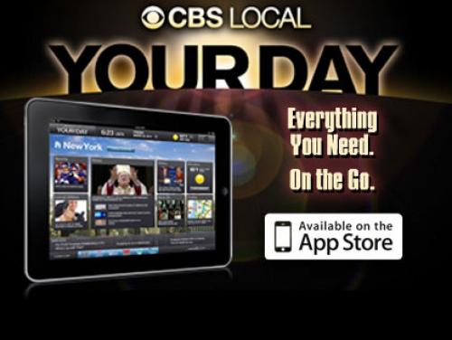 Features For The New CBS Local 'YourDay' iPad App
