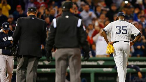 Felger & Mazz: Blatant Use Of Pine Tar Again? What Was Pineda Thinking?