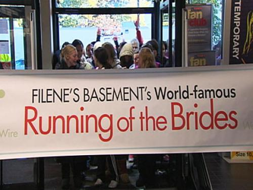 Filene's Basement To Sell 'Running Of The Brides' Trademark