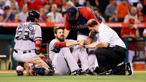 Foot Injury Ends Andrew Miller's Season With Red Sox