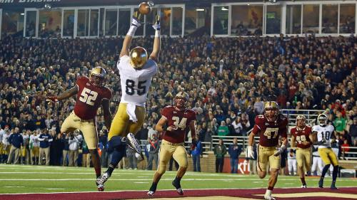 Football At Fenway? BC, Notre Dame Set To Square Off In Historic Ballpark