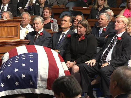 Former Governors Pay Tribute To Paul Cellucci At State House