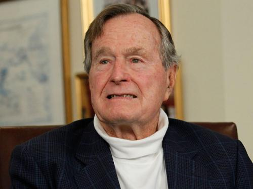 Former President Bush Honored With Kennedy Award