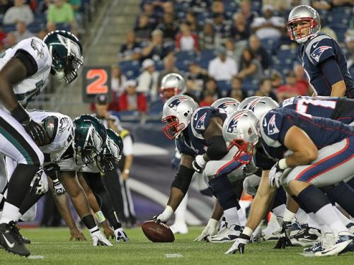 Four Ups, Four Downs From Patriots-Eagles Preseason Game