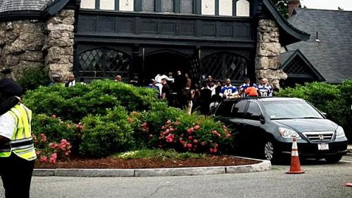 Friends & Family Gather For Funeral Of Odin Lloyd