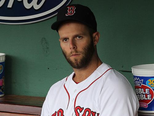 Frustrated Pedroia Wearing Cast On Thumb, Heading To Disabled List