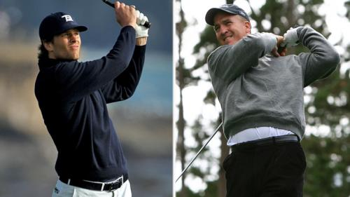 Golf Partners Tom Brady, Peyton Manning Win Private Match At Pebble Beach