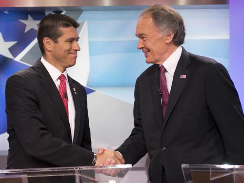 Gomez, Markey Clash In Senate Debate