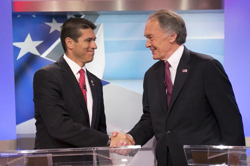 Gomez, Markey Step It Up Ahead Of Senate Election