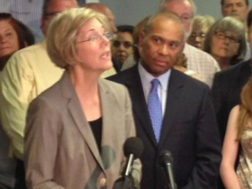 Gov. Patrick Endorses Elizabeth Warren