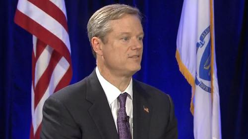 Governor-Elect Charlie Baker Vows To Restore Economic Order