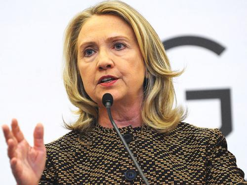 Hillary Clinton Dares Women To Compete