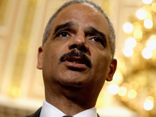 In Boston Speech, Eric Holder Touts Civil Rights Record