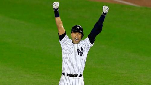 Jeter Gives Yankees Win At Stadium Finale
