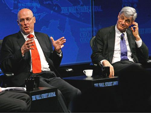 Keller @ Large: Do Paulson And Rubin Realize They Failed?