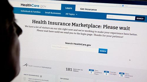 Lawmakers Frustrated With State's Health Care Website Failure