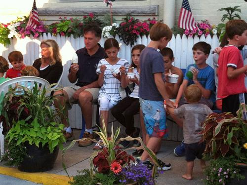 Locals Excited To See Romney Vacationing In Wolfeboro, NH