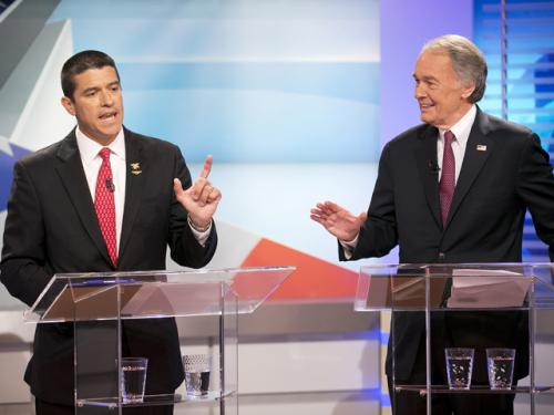 Markey, Gomez Clash In Final US Senate Debate
