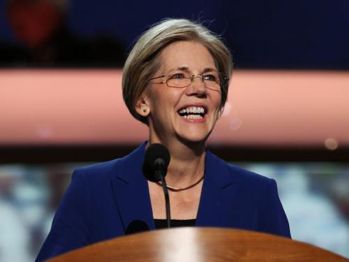 Mass. Senate Hopeful Warren Speaks At DNC