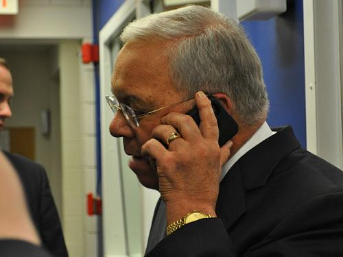 Mayor Menino's Emotional Day Ends With Call From President Obama