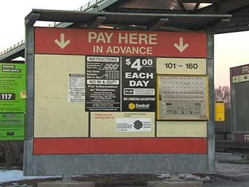 MBTA Commuter Lots To Start Taking Credit Cards